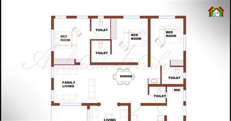architecture kerala  bhk single floor kerala house plan  elevation