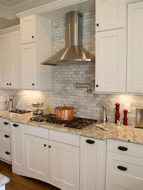 Houzz Kitchen Backsplash Ideas Gray Tile Backsplash Home Design Ideas Pictures Remodel And Decor