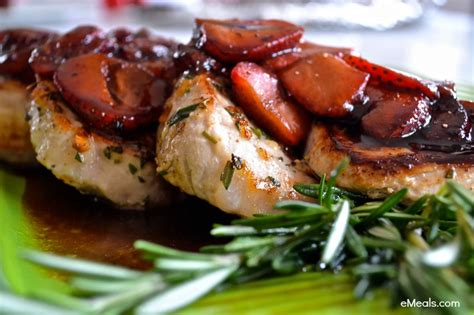 clean for every season fresh simple everyday meals books clean dinner recipe pork chops with balsamic