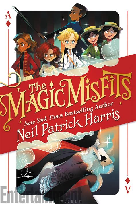 neil harris the magic misfits cover reveal