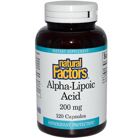 Alpha Lipoic Acid Brain Detox by Alpha Lipoic Acid Ala Antioxidant
