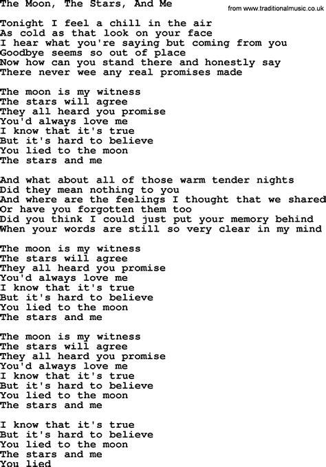 moon lyrics dolly parton song the moon the and me lyrics