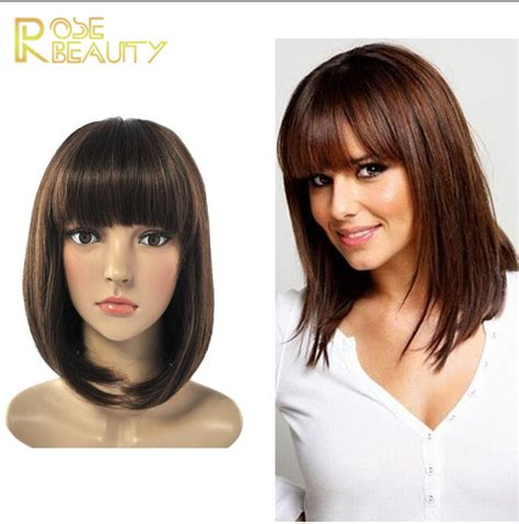 wig grips for women that have hair hot sale new synthetic wigs short straight hair wig for