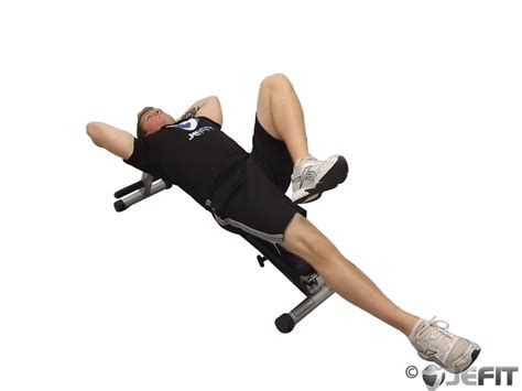 knee bench decline bench alternate knee raise exercise database jefit best android and