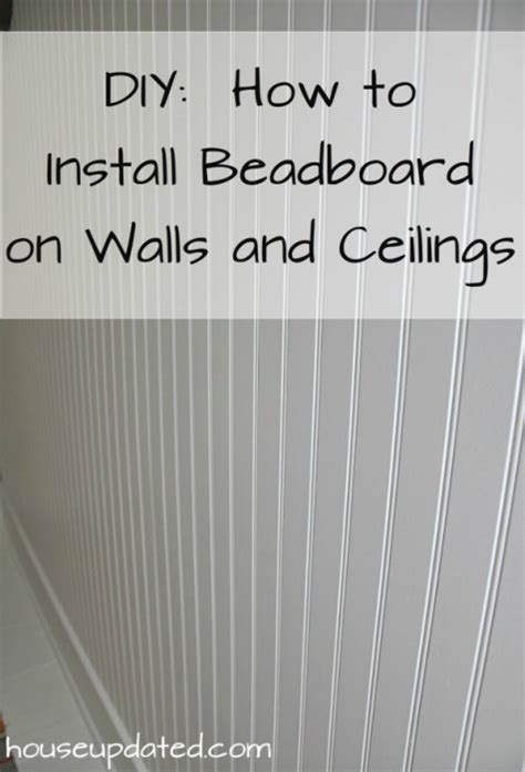 how to install beadboard on ceiling how to install beadboard newhairstylesformen2014
