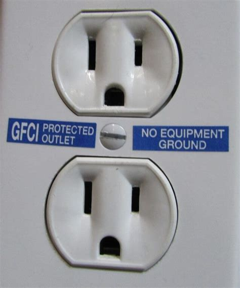 No Equipment Ground Sticker