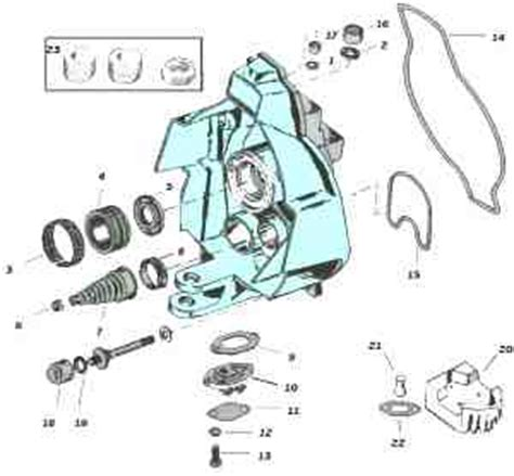 oiling boat steering cable mercruiser outdrive exploded view tech drawings