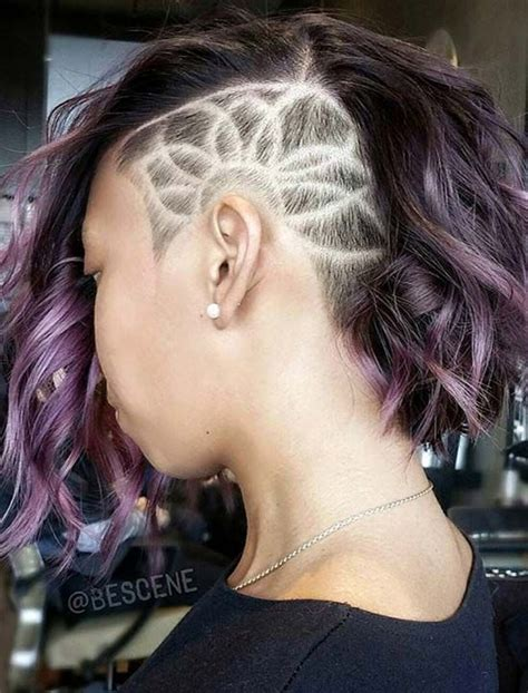 undercut tattoo 45 undercut hairstyles with hair tattoos for with