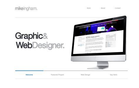 mike ingham design web designer minimal exhibit