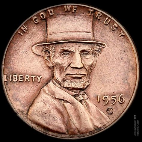 50 most valuable wheat pennies quot lincoln s top hat quot wheat engraved by aleksey saburov hobo nickels coins