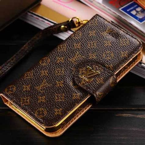 hot louis vuitton iphone ss  wallet case luxury