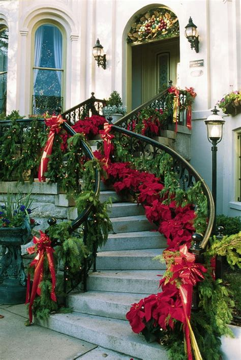 Urn Planters Cheap by 50 Fresh Festive Christmas Entryway Decorating Ideas