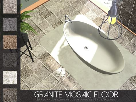 Which Granite Belongs To Catwgory 4 - rirann s granite mosaic floor