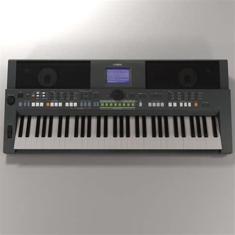 Keyboard Yamaha Psr S650 yamaha psr s650 keyboard 3d 3ds