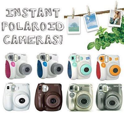 Cetak Foto Polaroid Instax Asli welcome to holic land