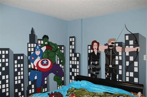 avengers bedroom theme avenger themed bedroom by maccadelarge deviantart com on