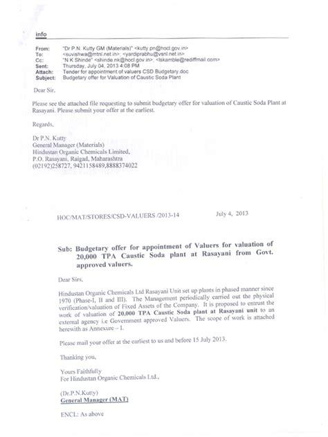 appointment letter for valuer yardi prabhu consultants valuers pvt ltd