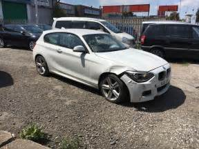 bmw damaged repairable cars for sale bmw f20 118d m sport damage repairable 163 2 745 00