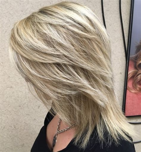 feathered and layered hairstyles on dark brown hair 80 sensational medium length haircuts for thick hair in 2018