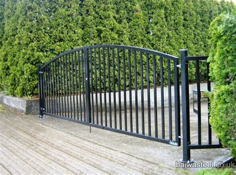 swinging gates for driveways bajwa steel portfolio