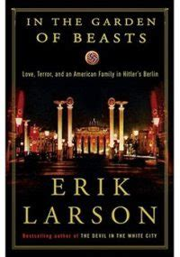 In The Garden Of The Beasts by Erik Larson S Book Topeka Shawnee County