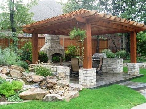 Patio Designs Okc 25 Best Ideas About Pergolas On Pergola Ideas