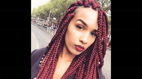 Big Braids Hairstyle by Big Box Braids Hairstyles