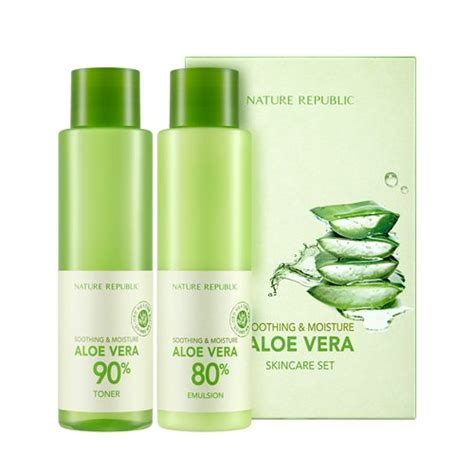 Nature Republic Soothing Moisture Toner nature republic soothing moisture aloe vera 80 toner