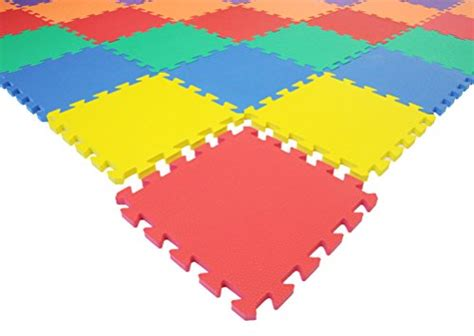 mat non toxic non recycled thick rainbow foam