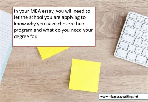 What Do You Need For Mba by How To Write An Mba Essay That Gets Noticed