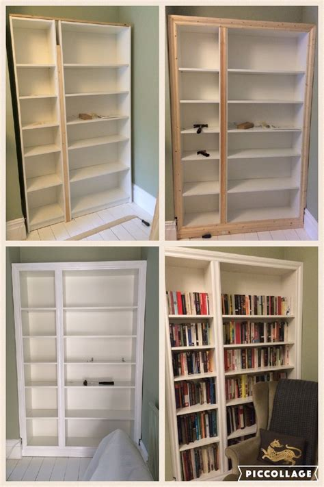 billy bookcase built in ikea hack billy bookcase modified to look like built in