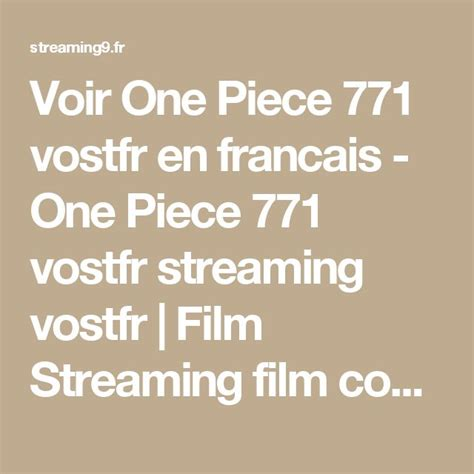 film one piece streaming vf best 25 film one piece streaming ideas on pinterest