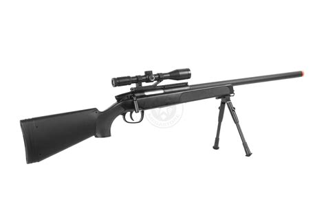 Airsoft Gun Cyma Zm51 Mk51 cyma airsoft mk51 bolt sniper rifle w bipod scope black