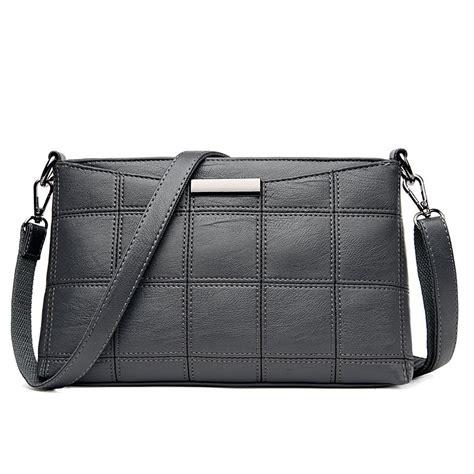 Plaid Crossbody Bag genuine leather plaid messenger bags crossbody bag