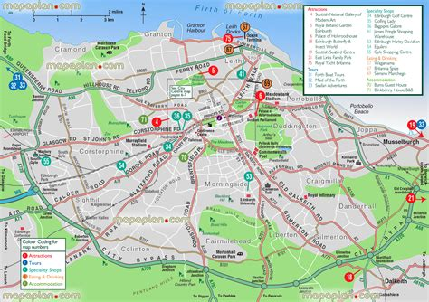 printable maps edinburgh edinburgh map greater edinburgh tourist information
