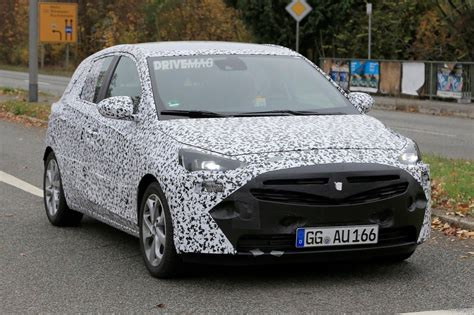 vauxhall corsa inside 2018 opel vauxhall corsa f spied inside for the