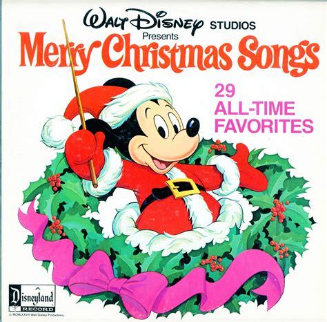 disney merry christmas songs   time favorites disney studios  record set   price