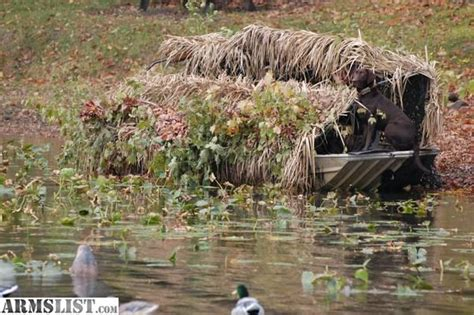 duck hunting boats for sale in indiana armslist for sale trade duck blind