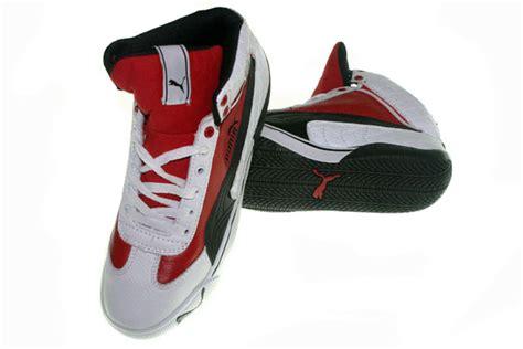 graha sepatu olah raga speed cat 2 9 mid putih merah