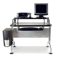 Modern Computer Desks by Modern Computer Desks For Small Spaces