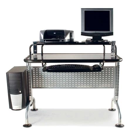 best modern computer desk modern computer desks for small spaces