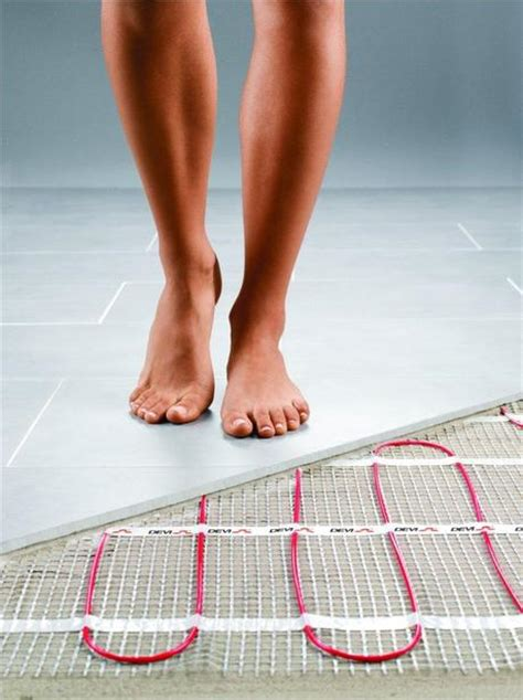 heated floors bathroom how to heat a small bathroom without sending your electric