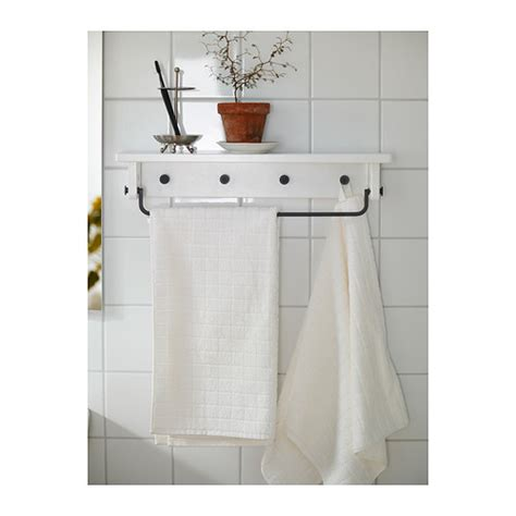 ikea towel storage hj 196 lmaren towel hanger shelf white ikea