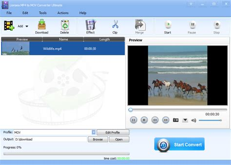 converter mov to mp4 download lionsea mp4 to mov converter ultimate 4 9 5 mp4