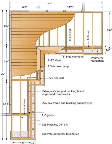 patio structure plans 143 best building components images on