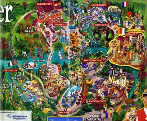 Buch Gardens by Theme Park Brochures Busch Gardens Williamsburg Theme Park Brochures