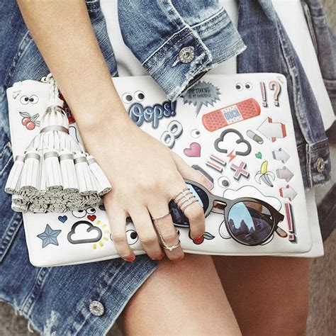 Anya Hindmarch Louisa Mirrored Clutch by Style Inspiration Monochrome Cool Summer Ideas