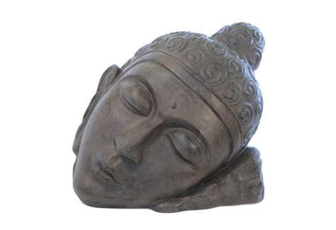 Tete De Bouddha En Pour Jardin by Statue T 234 Te De Bouddha Relax Pour Jardin Bali Koh Deco