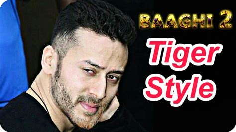 tiger shroff hair style baaghi 2 climax shooting tiger shroff new super