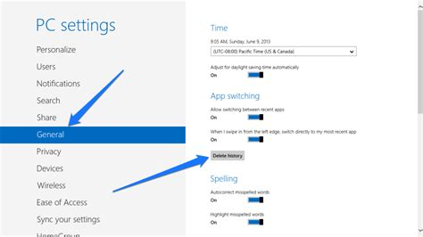 is there a way to delete app history on iphone how to delete the application history in windows 8